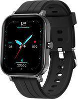 EXTRONICA EXTROFIT MAX 1.65'' Bezelless Full Touch Smartwatch(Black Strap, Regular)