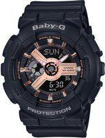 CASIO BX157 Baby-G ( BA-110RG-1ADR ) Analog-Digital Watch - For Women