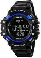 Skmei Digital smartwatch 1180 Blue Digital Watch - For Men