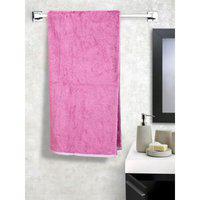 Contrast Hem Cotton Bath Towels in Purple Colour Cannon