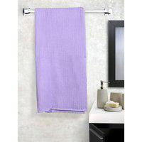 Zero Twist Cotton Bath Towels in Purple Colour Dreamline