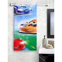 Spaces Cotton Bath Towel in Car Dm Colour HomeTown