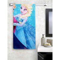 Spaces Cotton Bath Towel in Frozen Colour HomeTown