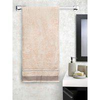 Spaces Cotton Bath Towel in Cream Colour HomeTown