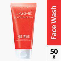 LAKME Blush and Glow Strawberry Face Wash