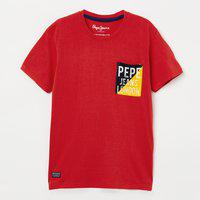 PEPE JEANS Typographic Print Short Sleeves T-shirt