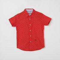 PEPE JEANS Printed Short Sleeves Casual Shirt
