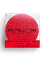 Makeup Revolution London Precious Stone Loose Shimmer Highlighter Dust - Ruby Crush 5g