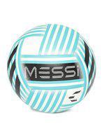 ADIDAS Men Blue & Black Messi Q3 Printed Football