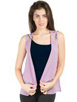 109F Lavender Sheer Shrug