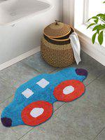S9home by Seasons Kids Multicoloured Car Bath Rug