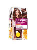 LOreal Paris Casting Creme Gloss Hair Color - Mahogany 550 87.5g plus 72ml