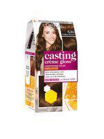 LOreal Paris Casting Creme Gloss Hair Color - Praline Brown 530 87.5 g plus 72 ml