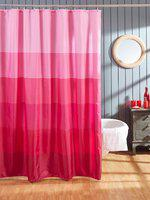 OBSESSIONS Pink Regular Shower Curtain