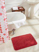 Obsessions Blue Rectangular Bath Mat