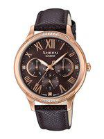 Casio Sheen Women Brown Analogue watch SX202