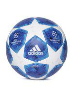 ADIDAS Men Blue & White Finale18 OMB UEFA Champions League Match Ball Replica Football