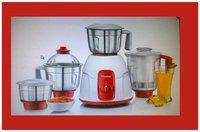 Prestige ELEGANT 750 W Juicer Mixer Grinder ( Red & White , 4 Jars )