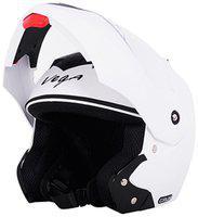 Vega Crux Full Face Helmet White