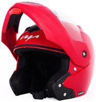 Vega Crux Full Face Helmet Red