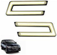 A2D Type-U White LED Fog Light Car DRL Day Time Running Lights-Toyota Innova