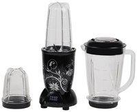 Wonderchef NUTRI-BLEND 400 W Hand blender ( Black )