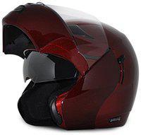 Vega Boolean Full Face Helmet Burgundy