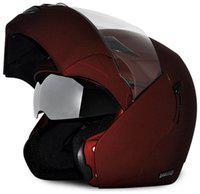 Vega Boolean Full Face Helmet Dull Burgundy
