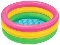 Intex Multi Color Inflatable Water Tub Pool
