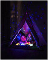 IBS Night Stars Sky Constellations Led Child 48 Sleeping Projector Night Lamp (9 cm;Multicolor)