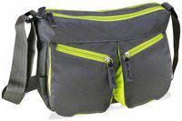 my pac ViVaa Polyester Sling bag grey C11543-26