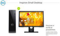 Dell Inspiron 3268 Desktop (Core i5 (7th Gen)/8 GB DDR4/1 TB HDD/18.5'' LED/Win 10 plus Office Home and Student 2016)