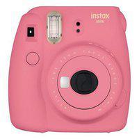 Fujifilm Instax mini 9 Instax mini 9 0.6 mp Instant Camera ( Pink )