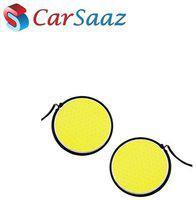 CarSaaz COB fog lamp DRL LED light for Tata Safari Storm