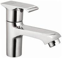 Snowbell Deck Mount Brass Basin and Sink Taps ( Handle Controlled )