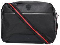 Puma Black PU Solid Sling Bag