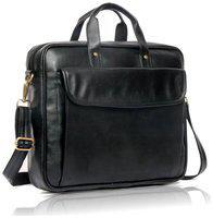 Wildmount Black Leather Sling bag