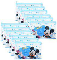 ASERA Mickey Minnie Character Pencil Pouch Birthday Return Gift for Kids (Pack of 24 pcs)