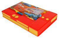 ASERA Car Character Window Jumbo Pencil Box Bithday Return Gift for Kids