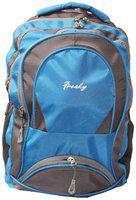 WONDER STAR 30 L School bag & Backpack - Blue & Grey
