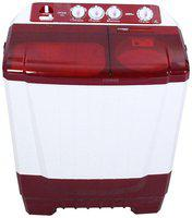 Onida 6.5 Kg Semi automatic top load Washing machine - 65SBT , Red & White