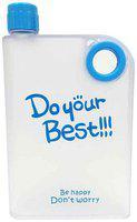 GREENVIJI Plastic Assorted Water Bottle ( 380 ml , Set of 1 )