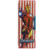 Funcart Red Avengers Assemble magnetic pencil box with two side compartments and sharpeners