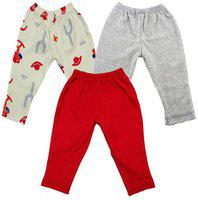 MAGIC TRAIN Baby girl Cotton Solid Capri - Multi