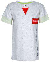 SUPERYOUNG Boy Cotton blend Printed T-shirt - Grey