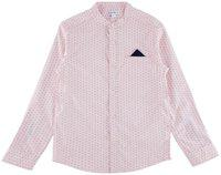 Poppers by Pantaloons Boy Cotton Solid Shirt Pink