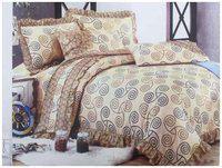 Cotton Bedsheet Queen Size (3 Pcs Set 1 Mayfair Queen Double Bedsheet with 2 Frill Pillow Covers)