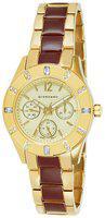 Giordano Multifunctional Gold Dial Women's Watch