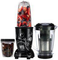 Wonderchef 63152663 400 W Juicer Mixer Grinder ( Black , 3 Jars )