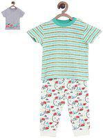 MINI KLUB Boys Multicoloured Printed Clothing Set